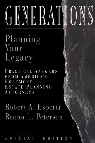 Image for Generations : Planning Your Legacy
