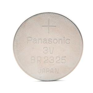 Panasonic - Pila botón litio BR2325 PANASONIC 3V 165mAh - Pila(s) marca Panasonic