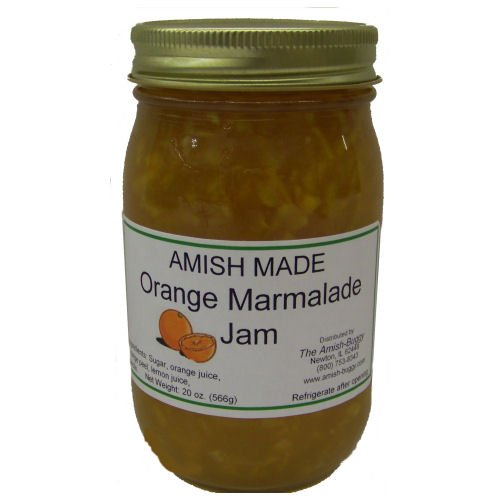 Amish Orange Marmalade - 20 Oz Jar - Qty 2 Jars