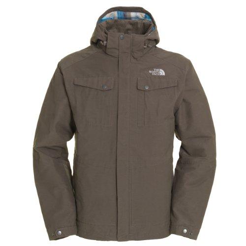 The North Face Mens Zepher Jacket - Weimaraner Brown Medium