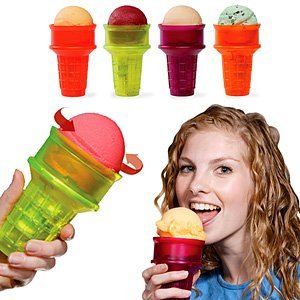 Motorized Ice Cream Cone Assorted Colors By Hog Wild