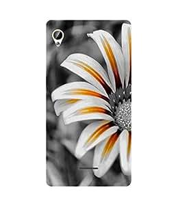 White Flower Intex Aqua Power Plus Case