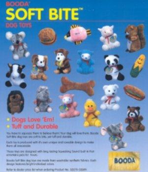 Soft Bite Bone Dog Toy