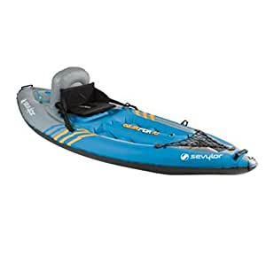 BRAND NEW! SEVYLOR QuikPak K1 Inflatable Coverless Sit-On-Top 1 Person Kayak