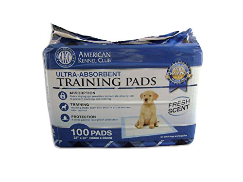 AKC Training Pads, 100-Pack (Puppy Pad Training compare prices)