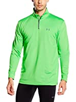 Under Armour Sudadera con Cierre Golf CGI Heartbeat 1/4 Zip (Verde)