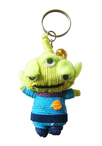 Toy Story Aliens Little Green Men Voodoo String Doll Keyring Keychain