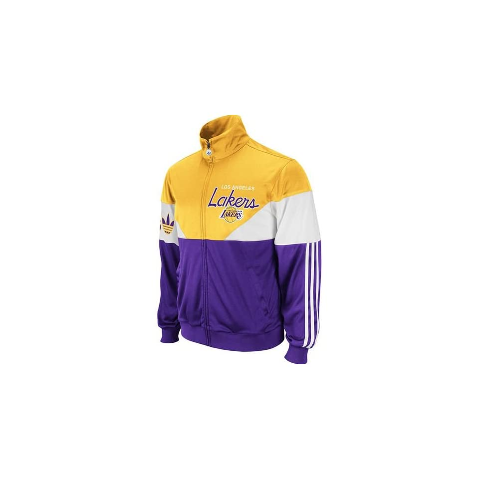Los Angeles Lakers Jam Track Jacket (Gold)
