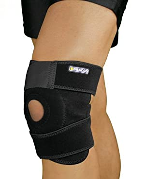 Bracoo Breathable Neoprene Knee Support, One Size
