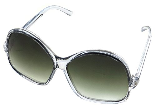 Womens Oversized Vintage Style Sunglasses 70s Look