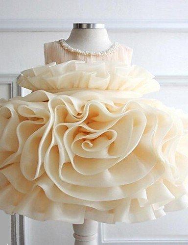 Wi&Lit Cindys Girl's Big Flower Romantic Style Princess Dress , screen color-90 , screen color-90
