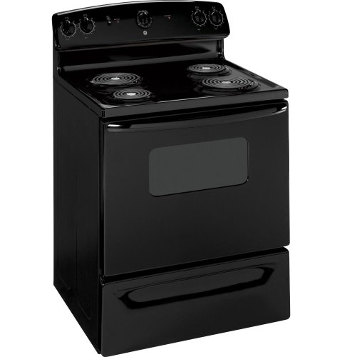 Ge jbs07mbb quick clean 30 black electric coil range review best ranges reviews - Reviews on electric stoves ...