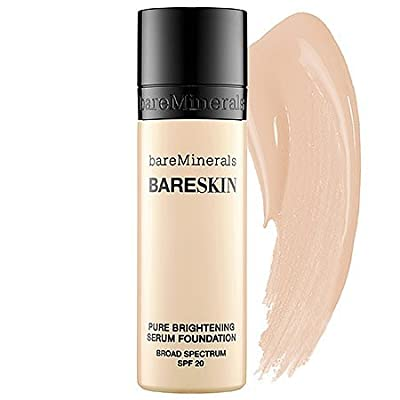 Bare Minerals BareSkin Pure Serum Foundation Broad Spectrum SPF 20 Bare Linen 03 1.0 oz