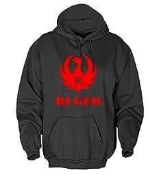 Ruger Eagle Men\'s Hooded Fleece Sweatshirt - 4XL