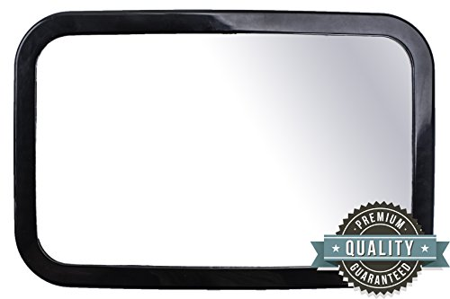 Discover Bargain Best Back Seat Baby Car Mirror by GreyJoy - Extra Large Clear Reflective Fully Adju...