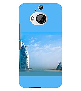 PRINTSWAG BUILDING Designer Back Cover Case for HTC ONE M9 PLUS