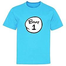 Brat 1 2 3 4 Youth T-Shirt