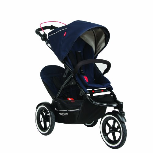Phil&Teds Navigator Buggy With Second Seat, Midnight Blue front-926438