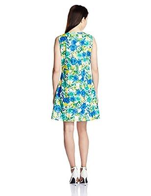 Style Quotient By NOI Women's Cotton Pleated Dress by Style Quotient By NOI