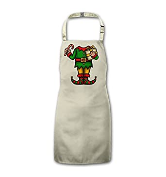 Elf Head Costume Kids Apron