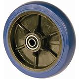 "RWM Casters SW1 Signature Hand Truck Wheel, 8"" Diameter, 2"" Width, 5/8"" Axle Hole Diameter, 600 lb. Capacity"