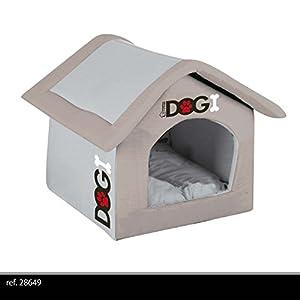 Maison niche panier pour chien ou chat en mousse lavable - Panier pour chien fait maison ...