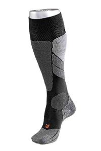 FALKE Herren Socke SK 2 16420 , black-mix 3010, 39-41