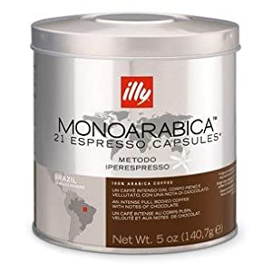 Choose Illy Monoarabica Brazil Capsules by ILLYCA