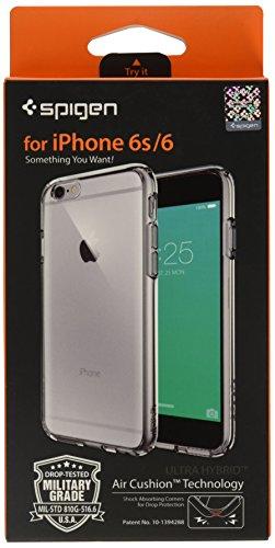 SpigeniPhone6S ケース / iPhone6 ケース ウルトラ・ハイブリッド 米軍MIL規格取得 (スペース・クリスタル SGP11599)
