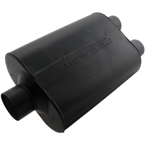 Flowmaster 9530452 Super 40 Muffler - 3.00 Center IN / 2.50 Dual OUT - Aggressive Sound 1500 Flowmaster Muffler