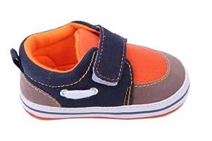 V-SOL Zapatos Infantil Con Cierre De Velcro Para Bebé Unisex Verano 11cm - Naranja por V-SOL