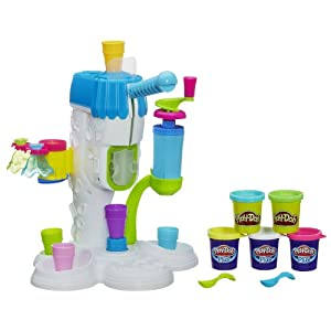 Amazon.com: Play-Doh Perfect Twist Ice Cream Playset: Toys & Games