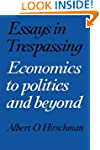 Essays in Trespassing: Economics to P...