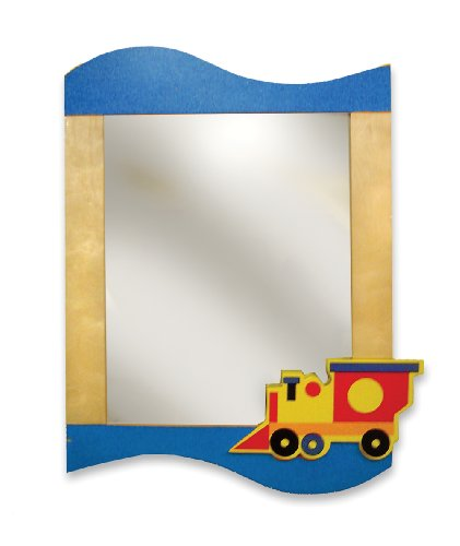 Room Magic RM10-BT Wall Mirror, Boys Like Trucks