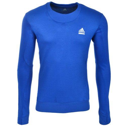 Adidas Techfit Mens Blue Running Gym Top 085546