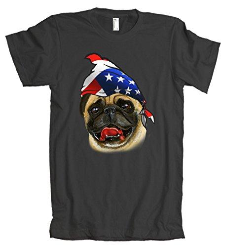 American Apparel: American Pug Bandanna T-Shirt