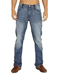 Lee Men Blue Blend Slim Fit Jeans