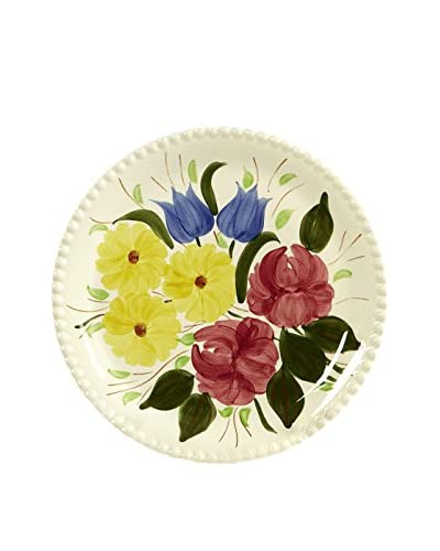 1950s Floral Serving Plate