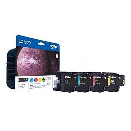 Brother LC1220VALBPDR Cartouche d'encre MultiPack pour DCP-J 525 W/925 DW/MFC-J 430 W/435 W/625 DW/660 W/825 DW