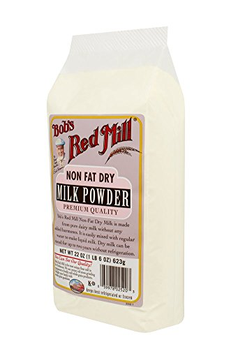 Bob's Red Mill Non Fat Dry Milk Powder, 22-ounce (Pack of 4) (Fat Free Milk compare prices)