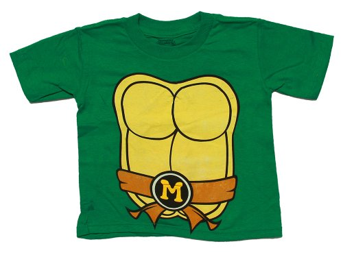 Teenage Mutant Ninja Turtles Michelangelo Toddler Costume T-Shirt
