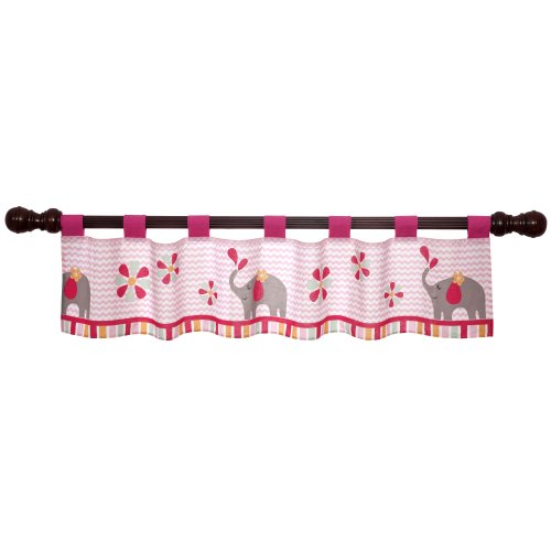 Bedtime Originals Window Valance, Jungle Sweeties