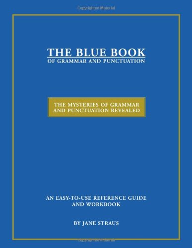 blue book of grammar and punctuation pdf