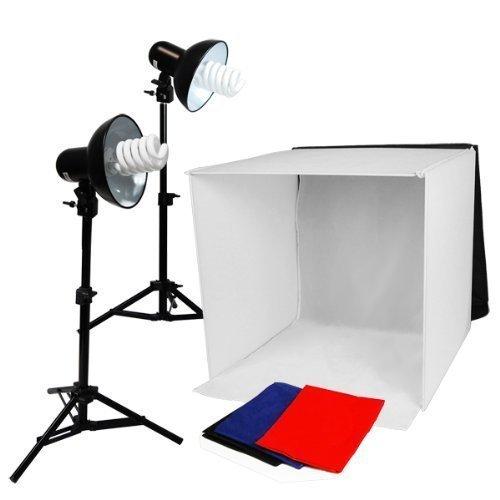 Studio Lighting Kit Amazon: LimoStudio Table Top Photography Studio Lighting Square