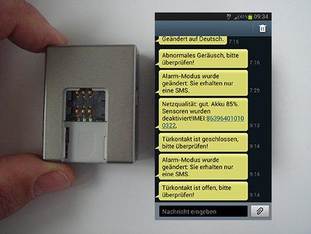 GSM Türalarm - Alarm auf Ihr Handy - Überwachung - Abhörgerät- Wanze - Alarmanlage