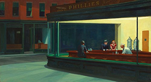 Artifact Puzzles Hopper Nighthawks Wooden Jigsaw Puzzle