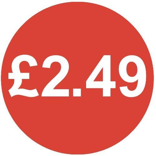 Audioprint Lot Petit 13mm £ 2.49Prix-50000autocollants