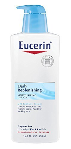 Eucerin Daily Replenishing Moisturizing Lotion, 16.9 Ounce