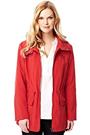 Hooded Zip Through Anorak