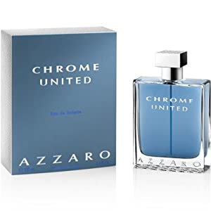 Azzaro Chrome United 3.4oz EDT 100ml